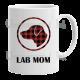 Lab Mom - White Ceramic Mug