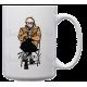 Bernie - White Ceramic Mug